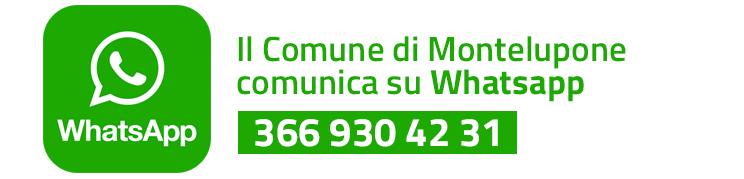 Il Comune comunica con Whatsapp